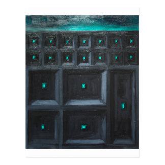 Grande Muralha gótico esverdeado (surrealismo do Cartão Postal