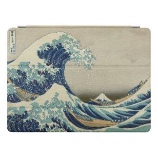 Grande onda de Hokusai fora das belas artes de Capa Para iPad Pro