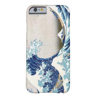 Grande onda do tsunami capa barely there para iPhone 6