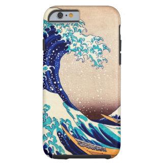 Grande onda fora do vintage do japonês de Kanagawa Capa Tough Para iPhone 6
