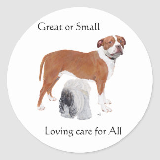 Grande ou cuidado Loving pequeno- para tudo Adesivo