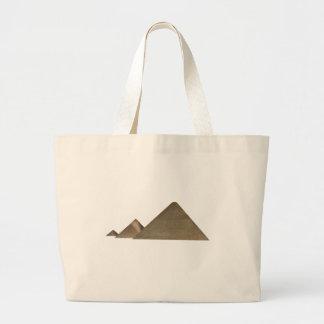 Grande pirâmide de Giza: Sacola Tote Jumbo