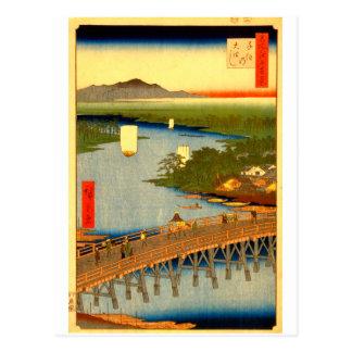 Grande ponte no cartão de Senju
