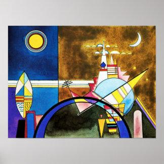 Grande porta de Kandinsky do poster de Kiev Pôster