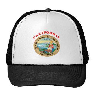 Grande selo do estado Califórnia Boné