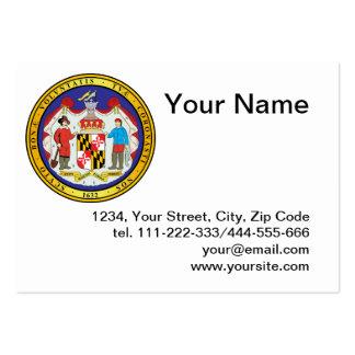 Grande selo do estado de Maryland Cartão De Visita