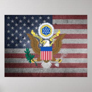 Grande selo dos Estados Unidos Pôster