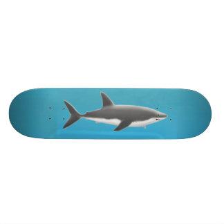 Grande skate do tubarão branco