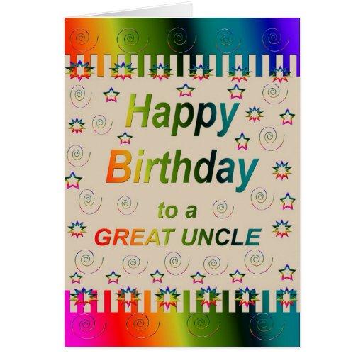 Grande tio Cartão do FELIZ ANIVERSARIO