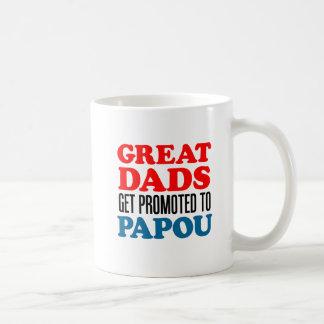 Grandes pais promovidos à caneca de Papou