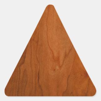 Grão da madeira do MED Adesivo Triangular