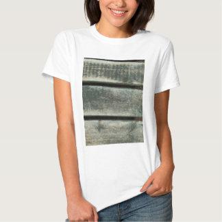 Grão de madeira gasta tshirts