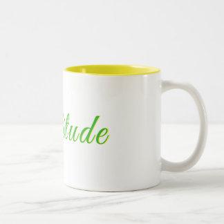 Gratitude - caneca de café