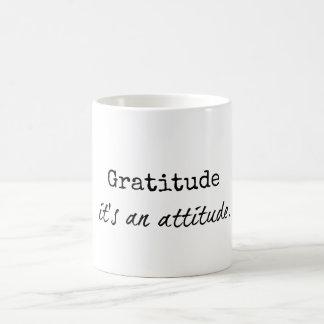 Gratitude: É canecas de umas citações da atitude