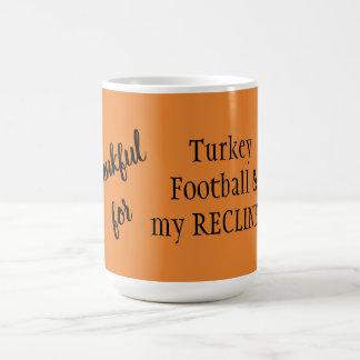 Grato para Turquia, futebol, & minha caneca do
