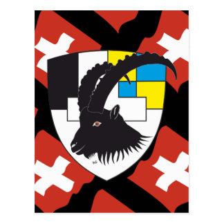 Graubünden Grischun Suíça Svizra cartão postal