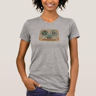 Gravador bobina a bobina camiseta