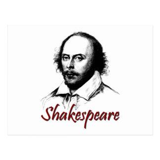 Gravar de William Shakespeare Cartão Postal