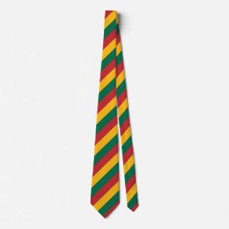 Gravata A bandeira de Lithuania inspirou o teste padrão