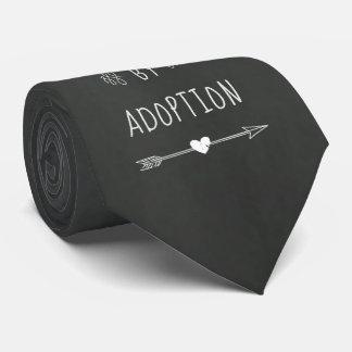 Gravata Abençoado pela adopção - a assistência social,