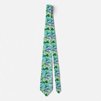 Gravata Água do verde azul do mar do oceano da alga das