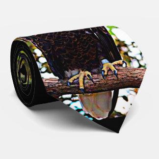 Gravata Águia americana (pássaro nacional)