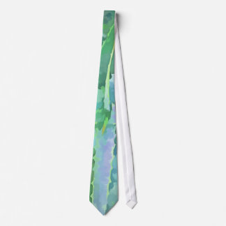 Gravata Aloés verde cinzento do pop art