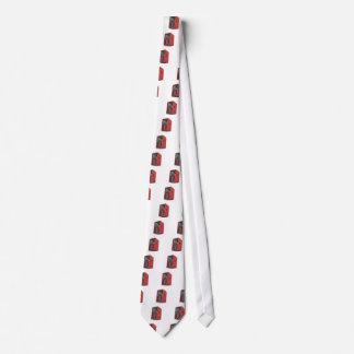 Gravata Altifalante vermelho grande