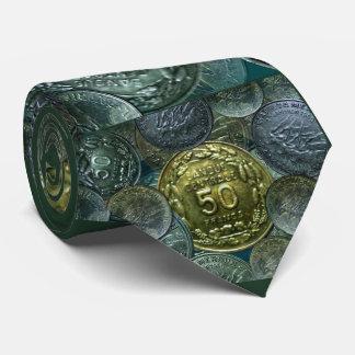 Gravata Amarre o teste padrão do W. da moeda 1960 da
