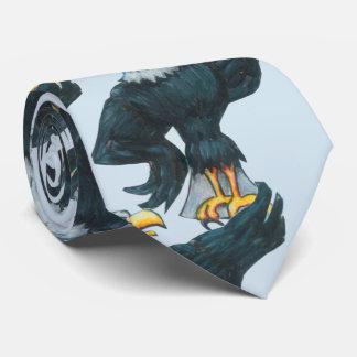 Gravata Americano patriótico Eagle