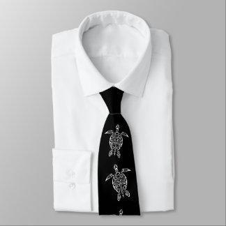 Gravata Animal preto e branco do tatuagem de Triabal das