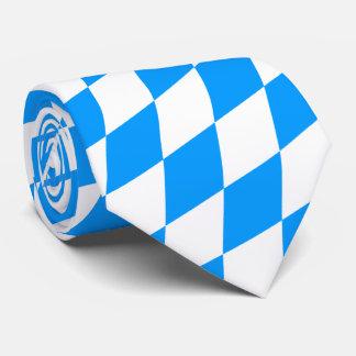 Gravata Apenas azul e branco, puro bávaro