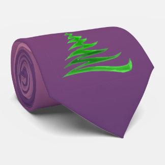 Gravata Árvore de Natal da baga