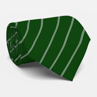 Gravata Aviões de combate verdes laço listrado