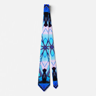 Gravata Azul do fosco