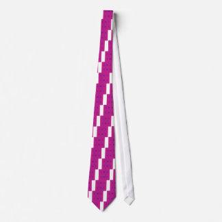 Gravata Azul do rosa dos elementos do design