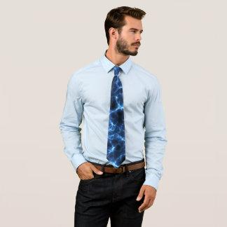 Gravata Azul elétrico