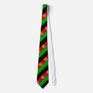 Gravata Bandeira afegã patriótica