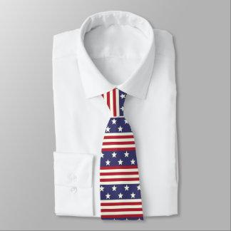 Gravata Bandeira americana EUA da bandeira dos Estados