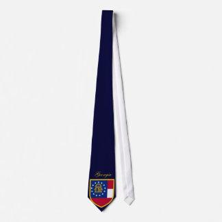Gravata Bandeira bonita de Geórgia
