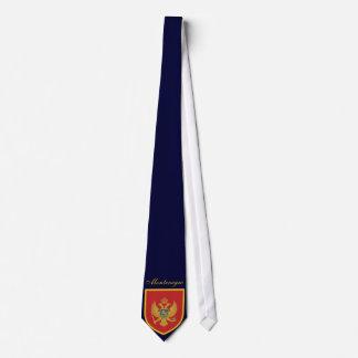 Gravata Bandeira bonita de Montenegro