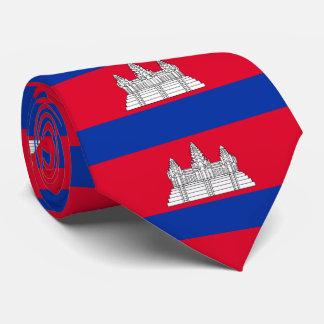 Gravata Bandeira de Cambodia