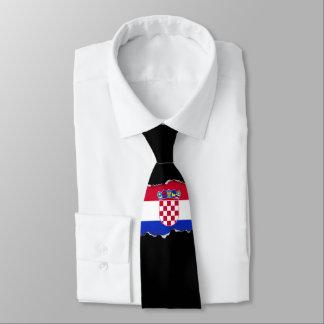 Gravata Bandeira de Croatia