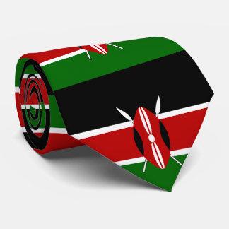 Gravata Bandeira de Kenya