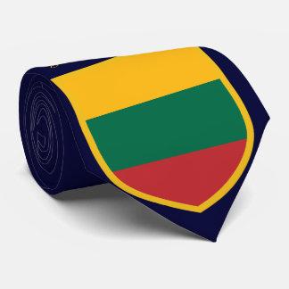 Gravata Bandeira de Lithuania personalizada