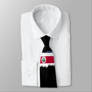 Gravata Bandeira de Rican da costela