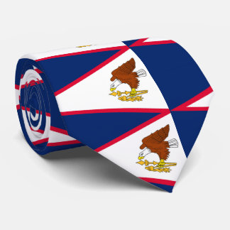 Gravata Bandeira de Samoa Americanas
