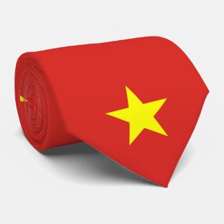 Gravata Bandeira de Vietnam