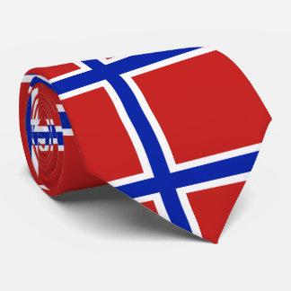 Gravata Bandeira do escandinavo de Noruega