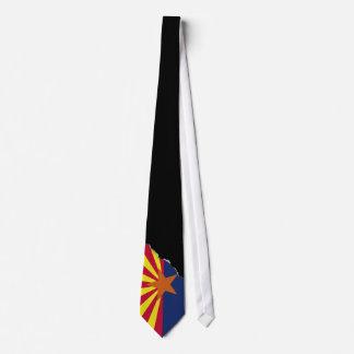 Gravata Bandeira do estado da arizona